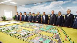 Diseño del proyecto de la BNBC, que consiste en 14 plantas de alimentación y aditivos para la alimentación. Foto: BNBC