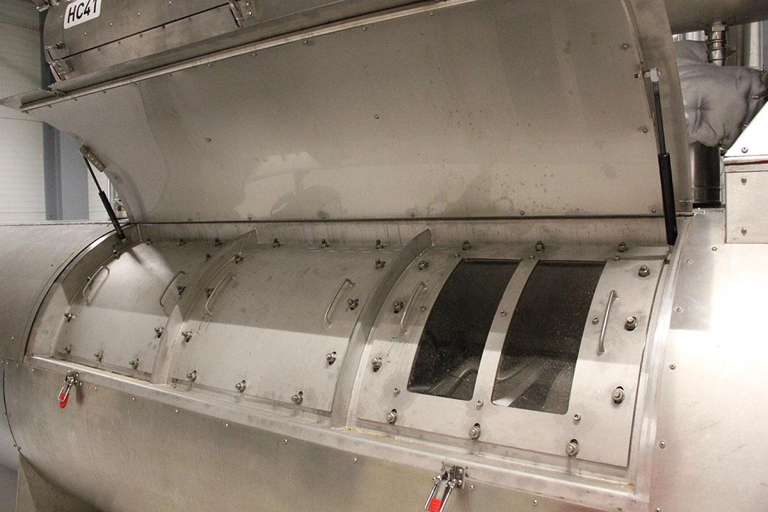El higienizador asegura que el alimento se exponga al tratamiento térmico durante el tiempo necesario. Foto: ForFarmers