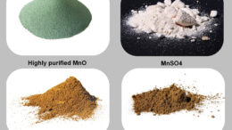 Figura 1: Las propiedades tológicas de las fuentes de manganeso varían considerablemente. Foto: Animine