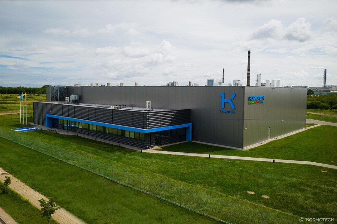 Este año la compañía abrió su primera instalación extranjera en Lituania. Foto: Kormotech