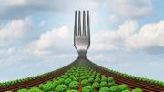 """La Estrategia """"De la granja al tenedor"""" del """"Trato Verde"""" tiene como objetivo acelerar la transición hacia un sistema alimentario sostenible. Foto: Canva"""