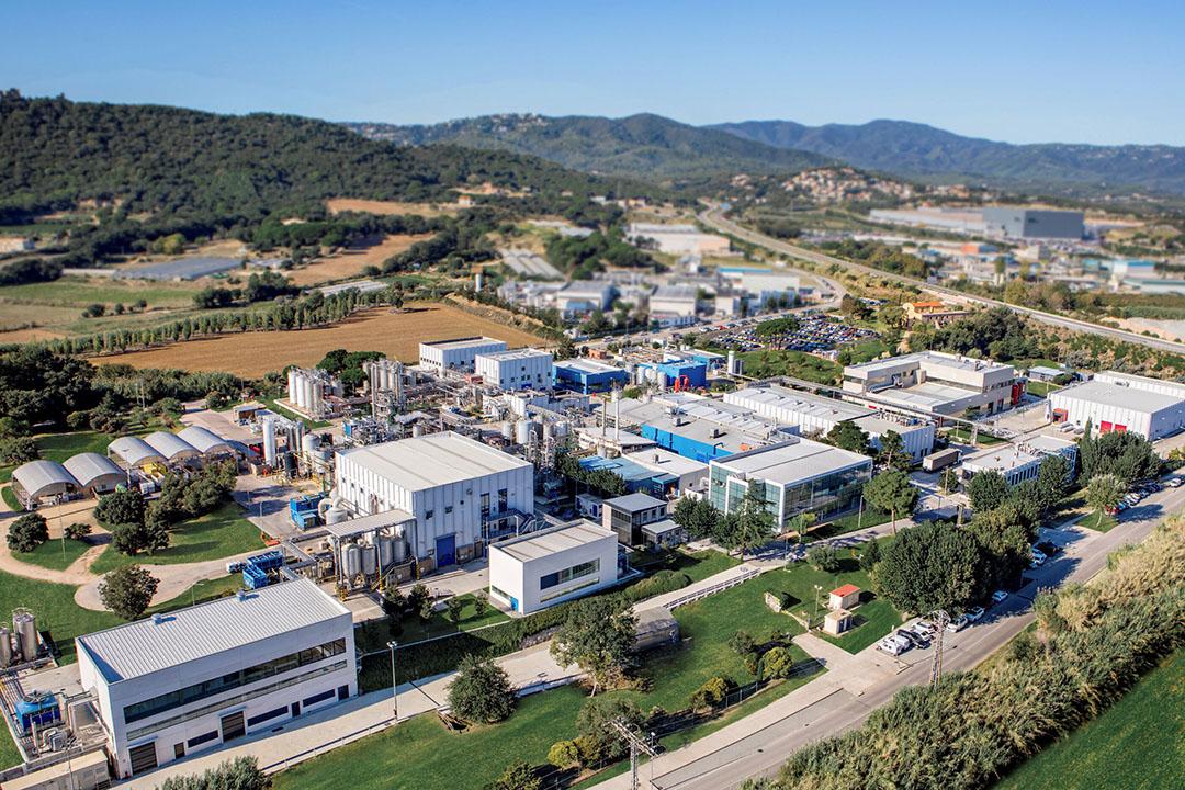 Centro de producción de Bioibérica en Palafolls (Barcelona). Foto: Bioiberica