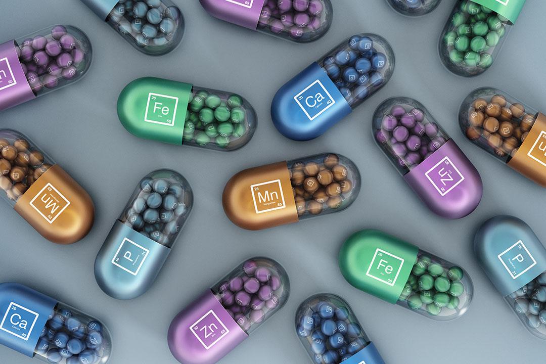 Un estudio reveló una reducción sustancial de la estabilidad de las vitaminas cuando éstas se almacenaban en combinación con los oligoelementos inorgánicos. Foto: Shutterstock