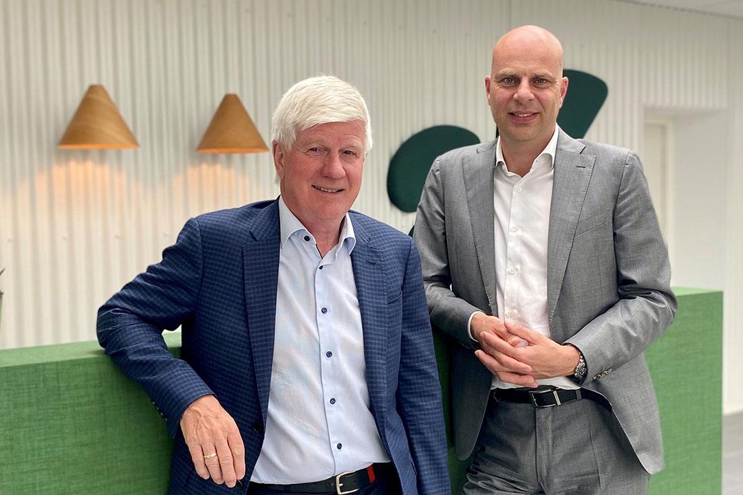 Kjeld Joahnnesen y Erik Visser. Foto: Hamlet Protein